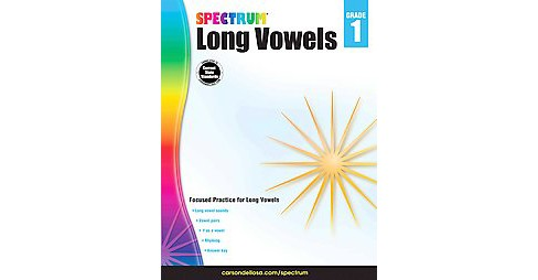 Long Vowels, Grade 1 (Paperback) - image 1 of 1