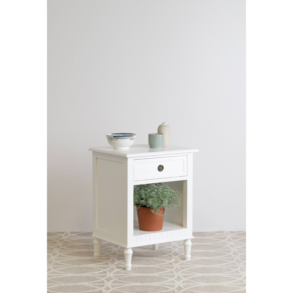 Adeline Nightstand White - East At Main