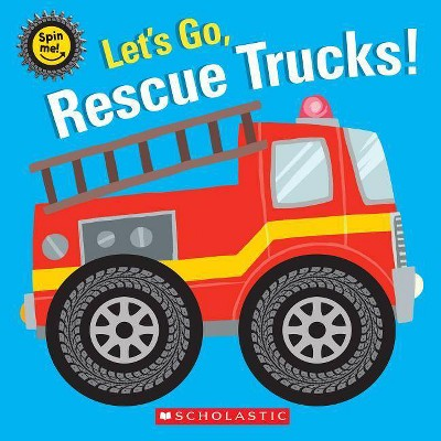 Let's Go, Rescue Trucks! - (Hardcover)