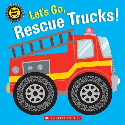 Let's Go, Rescue Trucks! -  (Hardcover) - image 1 of 1