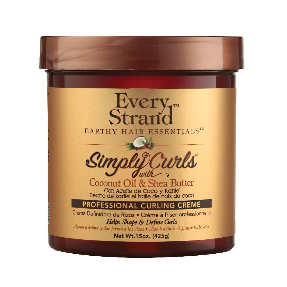 Image of Every Strand Simply Curls Coco Oil & Shea Curl Creme - 15oz