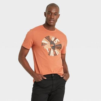 Black History Month Men's 'Enough is Enough' Short Sleeve T-Shirt - Red Brick