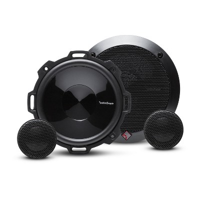 Rockford Fosgate P152-S Punch Series 5.25-Inch 2 Way Full Range Car Speakers System with Dome Tweeter