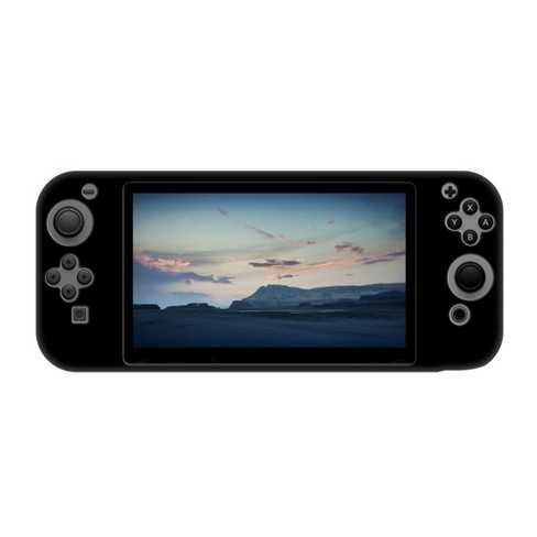 INSTEN Protective Silicone Skin Case Compatible with Nintendo Switch, Black - image 1 of 4