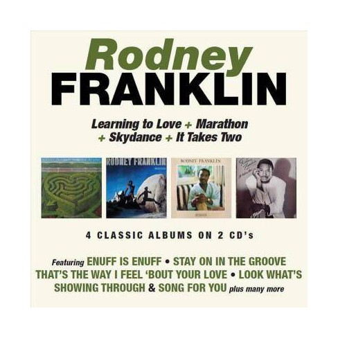 Rodney Franklin - Learning To Love/Marathon/Skydance/It Takes Two (CD) - image 1 of 1