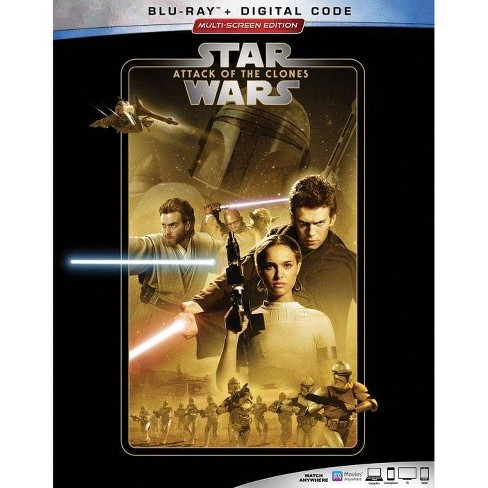 Star Wars: Attack of the Clones (Blu-Ray + Digital) - image 1 of 2