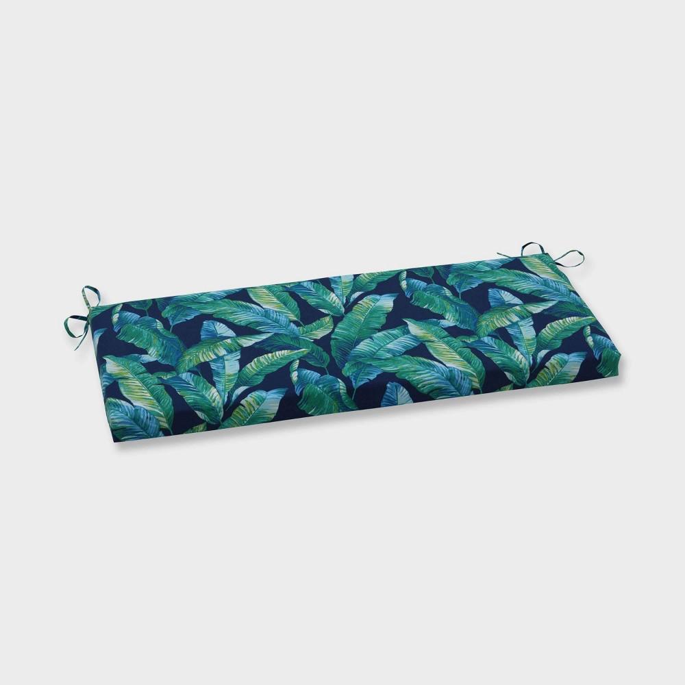 Hanalai Lagoon Outdoor Bench Cushion Blue - Pillow Perfect