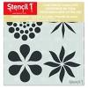 """Stencil1 Ornament Repeating - Stencil 5.75"""" x 6"""" - image 2 of 3"""