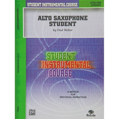 Alfred Student Instrumental Course Alto Saxophone Student Level I - image 1 of 1