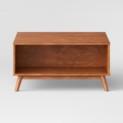 Amherst Mid Century Modern Square Coffee Table Project 62