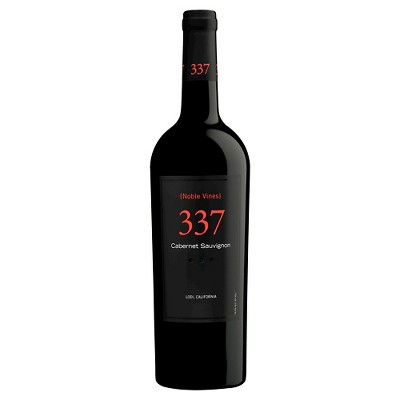337 Cabernet Sauvignon Red Wine - 750ml Bottle