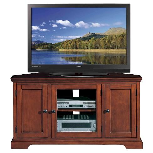 46 Corner Tv Stand Cherry Leick Home Target