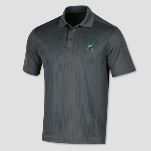cfc4fa2f900 Michigan State Spartans Men s Short Sleeve Game Day Polo Shirt   Target