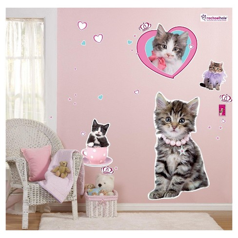 Rachaelhale Glamour Cats Wall Decal - image 1 of 1