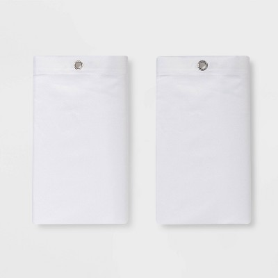 Fabric Medium Weight Shower Liner White - Made By Design™