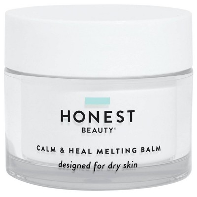 Honest Beauty Calm & Heal Melting Balm with Hyaluronic Acid for Dry Skin - 1.7oz