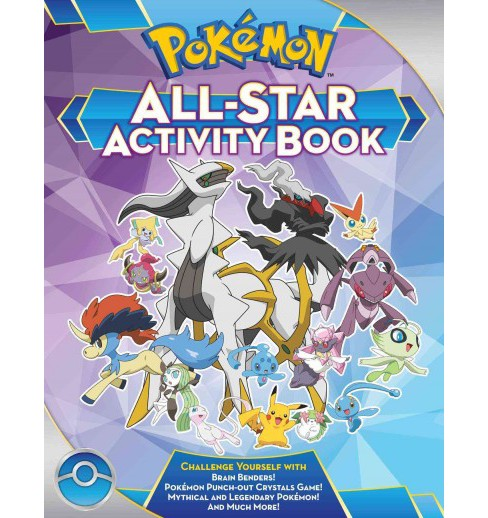 Pokémon All-Star Activity Book (Paperback) (Lawrence Neves) - image 1 of 1