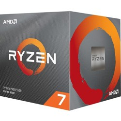 AMD Ryzen 7 3800X Desktop Processor - 8 cores & 16 threads - Up to 4.5 GHz - AMD Wraith Prism Cooler - Color Controlled LED support for Cooler