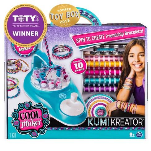 de9a59d75fbcf Cool Maker KumiKreator Friendship Bracelet Maker Activity Kit