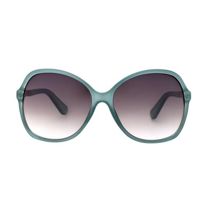 Women's Smoke Sunglasses - A New Day™ Crystal Aqua