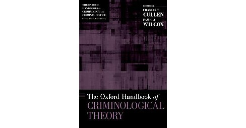 Oxford Handbook of Criminological Theory (Paperback) - image 1 of 1