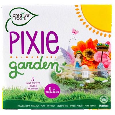 "Creative Roots Pixie Garden with 6"" Terrarium"