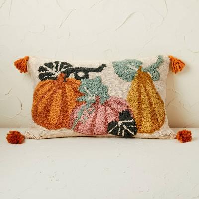Pumpkin Lumbar Throw Pillow - Opalhouse™ designed with Jungalow™
