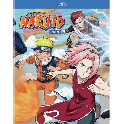 Naruto Box Set Volume 3 (Blu-ray)(2021)