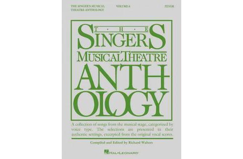 Singer's Musical Theatre Anthology : Tenor -   Book 6 (Paperback) - image 1 of 1