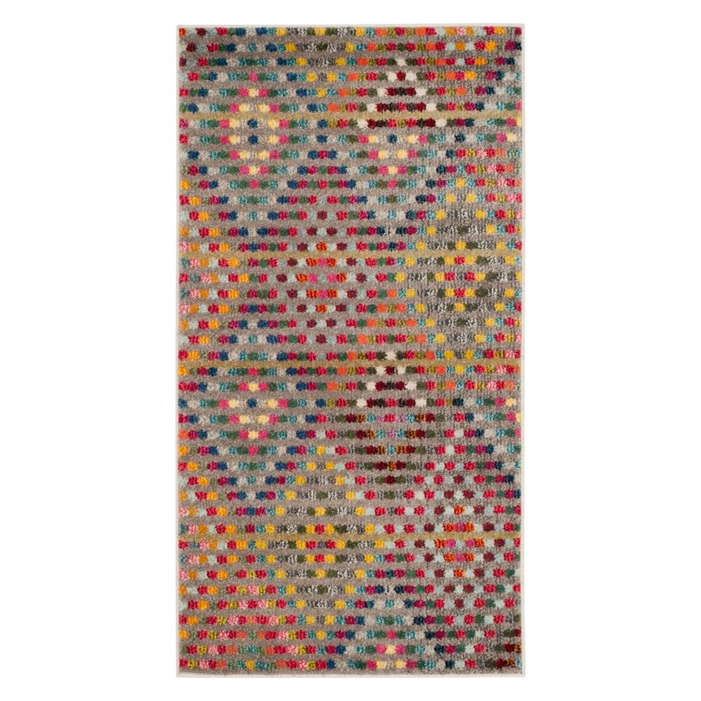 22X4 Geometric Accent Rug Beige - Safavieh Buy