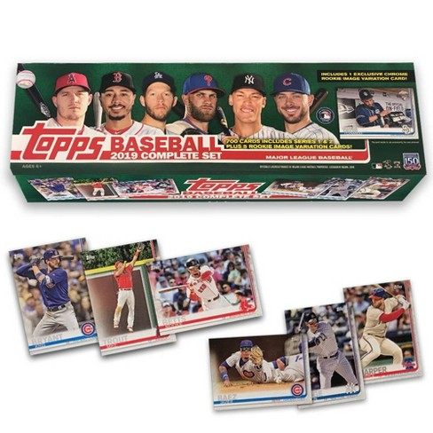 2019 Topps Mlb Complete Baseball Trading Card Special Edition Set Target Exclusive