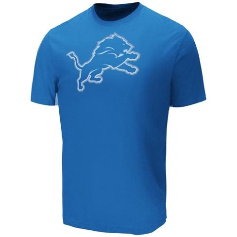 NFL Detroit Lions Men s Target Sueded Cotton T-Shirt   Target 68904cd1b