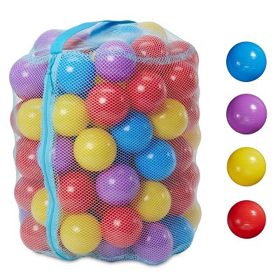 Little Tikes Balls for Kids' with Reusable Mesh Bag - 100pcs