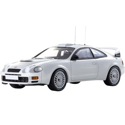Toyota Celica GT-FOUR (ST205) White 1/18 Model Car by Otto Mobile for Kyosho