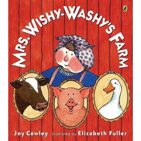Mrs. Wishy-Washy's Farm - By Joy Cowley (Paperback) : Target