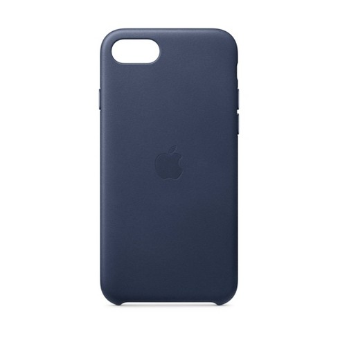 Apple iPhone SE Leather Case - Midnight Blue - image 1 of 3