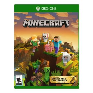Minecraft Starter and Creators Pack - Xbox One