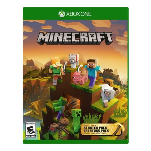 Minecraft Starter and Creator's Pack - Xbox One - image 1 of 4