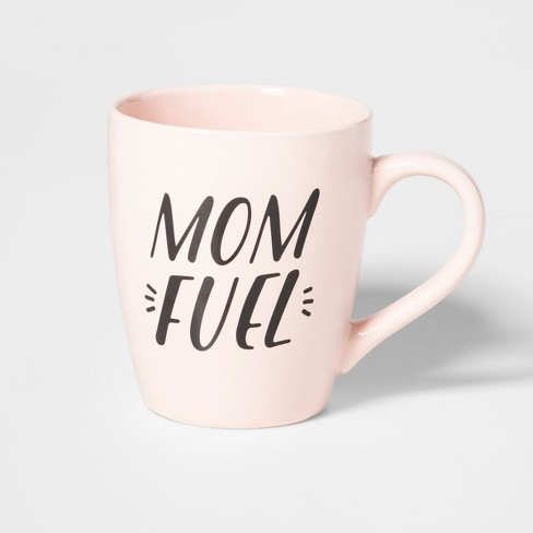 48oz Stoneware Mom Fuel Giant Mug Light Pink - Clay Art - image 1 of 8