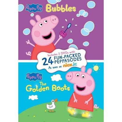 Peppa Pig: Bubbles / Golden Boots (DVD)