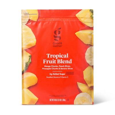 Tropical Fruit Frozen Blend - 48oz - Good & Gather™
