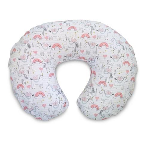 Boppy Original Nursing Pillow Cover - Rainbows & Unicorns - image 1 of 4