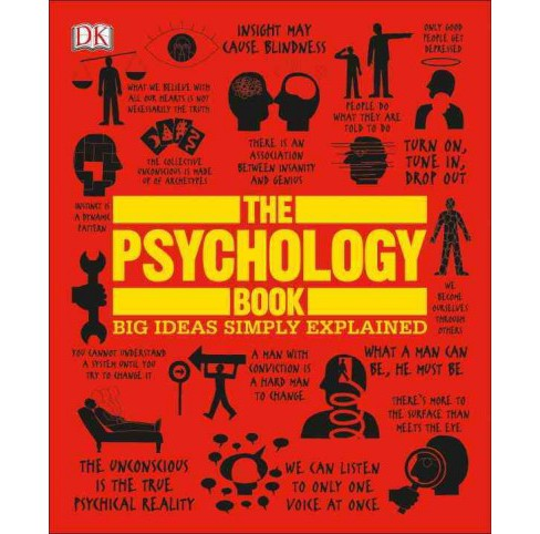 Psychology Book : Big Ideas Simply Explained (Paperback) - image 1 of 1