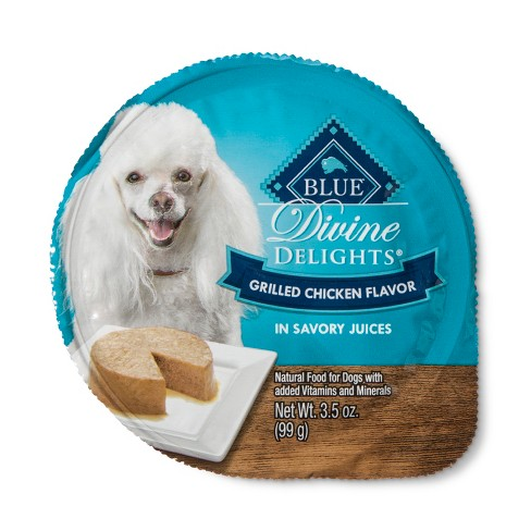 Blue Buffalo Divine Delights Grilled Chicken Pate - Wet Dog Food - 3.5oz - image 1 of 2