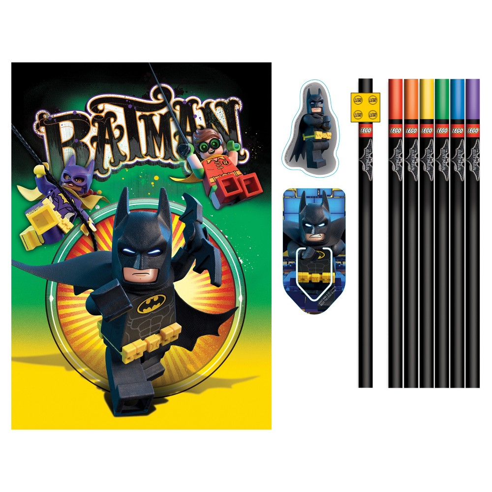Image of The LEGO Batman Movie Lined Journal & Stationary Set