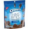 Oreo Thins Bites Fudge Dipped Original Sandwich Cookies - 6oz - image 2 of 4