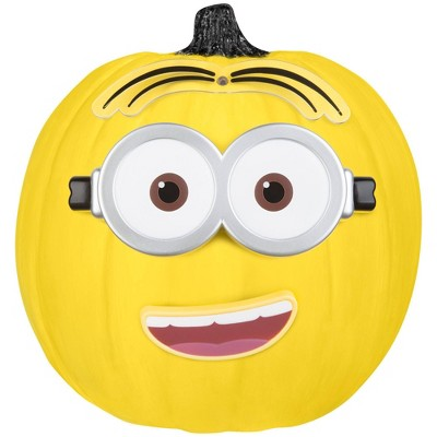 Despicable Me Minion Dave 5pc Halloween Pumpkin Push-In Decorating Kit