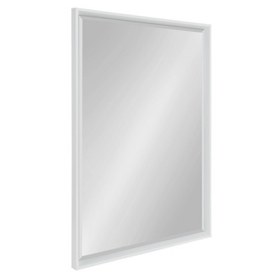 "26"" x 38"" Calter Framed Wall Mirror White - Kate and Laurel"