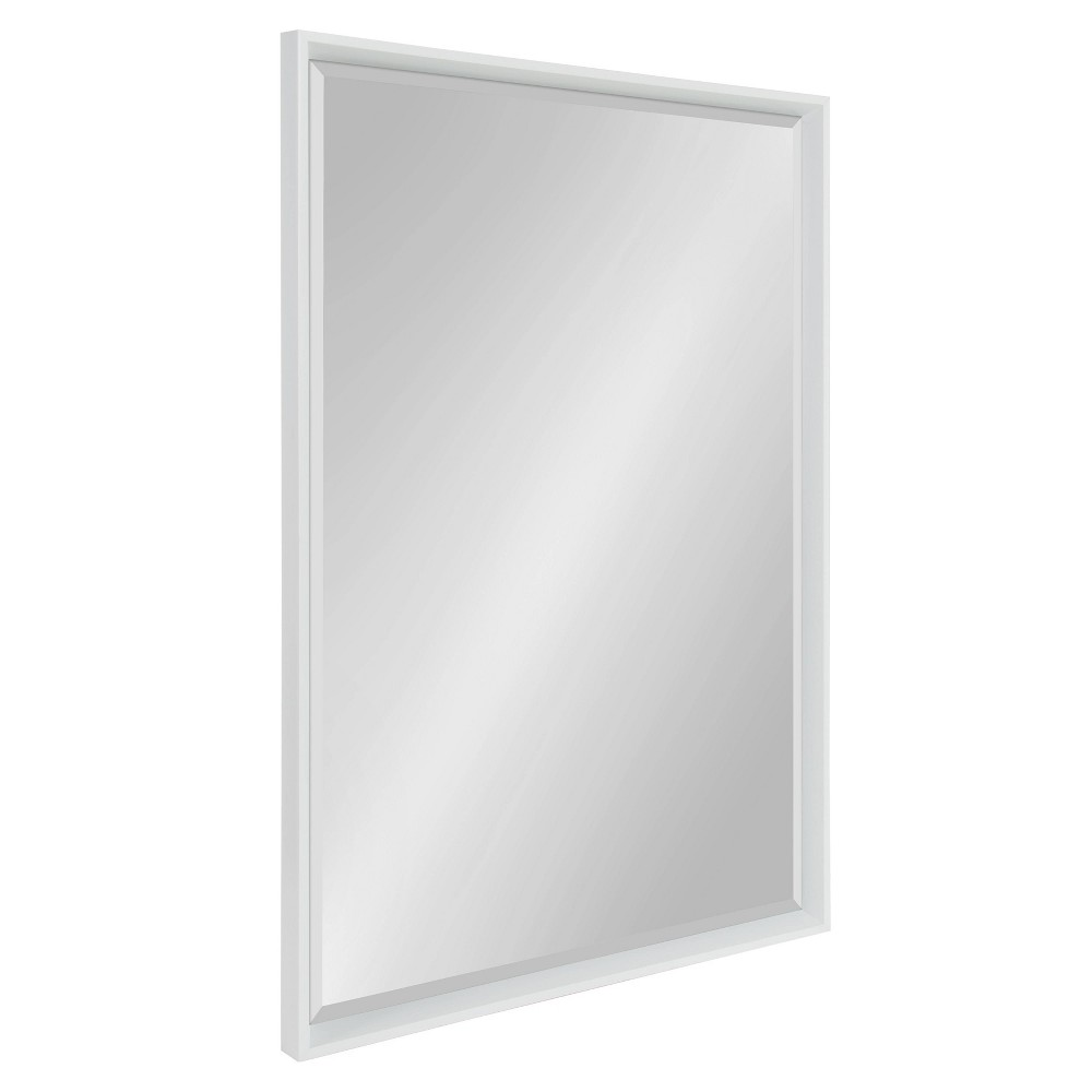 """Image of """"25.5""""""""x37.5"""""""" Calter Framed Wall Mirror White - Kate and Laurel"""""""
