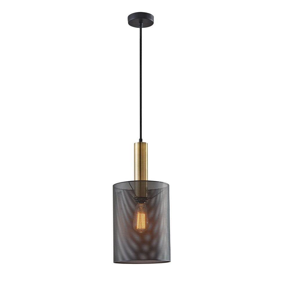 Image of Nico Large Pendant Ceiling Light Brass - Adesso